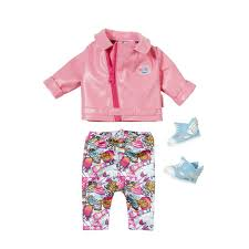 Baby Born Play And Fun Deluxe Scooter Outfit AlexandAlexa