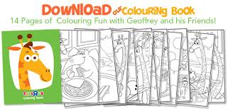 Toys R Us Coloring Book For Free