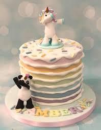Dabbing Unicorn And Panda Pandicorn Unipanda Birthday Celebration Cake