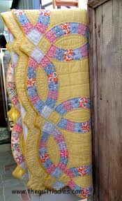 Best 200 Double Wedding Ring QUILTS images on Pinterest