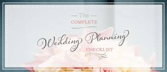 Free Wedding Planning Checklist For Print Or Download