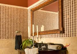 Brown Mosaic Bathroom Mirror by Bathroom Good Looking Brown Bathroom Design Idea Using Brown