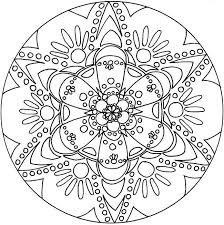 Tattoo Mandala Designs Coloring Pages