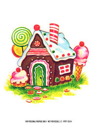 Lolly Pop House Clipart 1