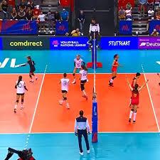 Volleyball Nations League Deutschland Unterliegt China 23