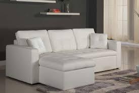 canap d angle en cuir blanc canapé d angle reversible convertible coffre pu blanc irina côtécosy