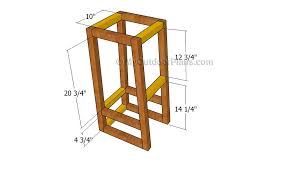 wooden step stool plans free friendly woodworking projects