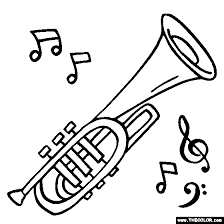 J Is For Jazz To Be Printed Off As Coloring Page