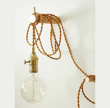 pendant light brass wall lighting edison bulb adjustable