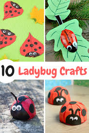 I Have Gathered 10 Awesome Ladybug Crafts For Kids That Will Get Your Children Excited And Creative Juices Flowing These Use Common Household Items