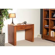 bureau teck massif bureaux meubles et rangements bureau 2 tiroirs en teck massif