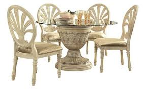 ortanique dining table by ashley furniture old world