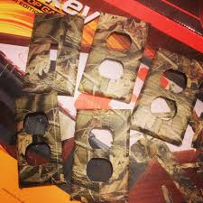 Hunting Camo Bathroom Decor by Camo Light Switch And Outlet Covers For My Boys