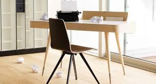 lignes bureau meubles design bureau bois clair lignes épurées design minimaliste