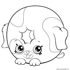 Cute Donut Dog Printable Shopkins Season 5 Coloring Pages And Book To Print For Free Find More Online Kids Adults