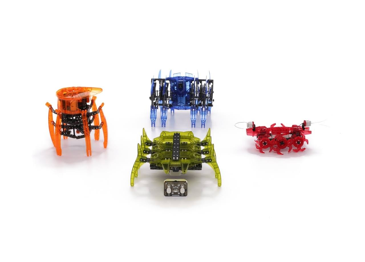 Hexbug Vex 4 in 1 Robotics Kit - Build 1 At a Time