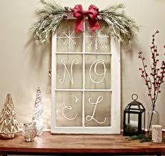 Rustic Window Pane Christmas Decoration Ideas 2
