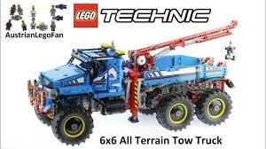 100 Lego City Tow Truck Technic 42070 6x6 All Terrain Speed Build