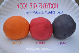 Pumpkin Spice Jello Playdough by Come Together Kids Magical Playdoh Mix