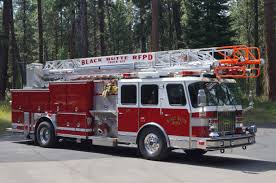 Aerial Truck 851 - Black Butte Fire Department