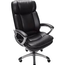 Hercules 500 Lb Office Chair by Serta Executive Big And Tall Puresoft Faux Leather Office Chair