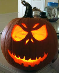 Scariest Pumpkin Carving by Simple Yet Scary Pumpkin Carving Faces Lauren Q Hill