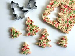 Give Your Holiday Baking A Little Extra Cheer With These White Chocolate Covered Rice Krispie Christmas