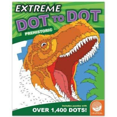 MindWare Extreme Dot to Dots Prehistoric