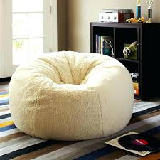Big Fluffy Bean Bag Chairs Giant View A Large Beanbag Fur