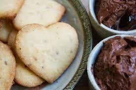 herv cuisine mousse au chocolat mousse choco orange et coeurs sablés au gingembre dessert de st