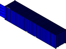 104 40 Foot Shipping Container 3d Cad Model Library Grabcad