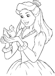 Other Printable All Disney Princess Coloring Pages Tone