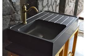 evier de cuisine en évier en pour cuisine shadow granit grand luxe 90x60cm