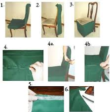 Do It Yourself Dining Room Chair Covers Creative Decoration How To Make