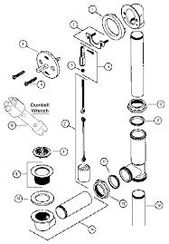 Bathtub Drain Lever Up Or Down by 7 Bathtub Plumbing Installation Drain Diagrams