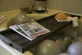 Teak Bathtub Tray Caddy by Bathtub Tray Wood 69 Cool Bathroom Also Bath Caddy Wooden Icsdri