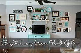 Brown And Aqua Living Room Decor by Living Room Wall Gallery Ideas Living Room Decor Living Room