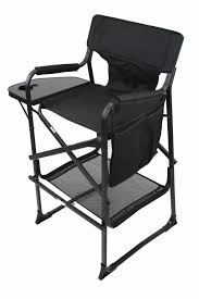 Professional Tall Folding Directors Chair by Tall Director U0027s Chair Black