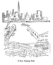 Coloring Page City Buildings And Architecture 14