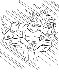 Full Size Teenage Mutant Ninja Turtles Coloring Pages 75 Free