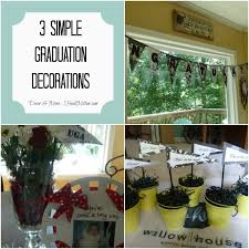 decor more 3 simple diy graduation decorations craft corner
