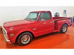 1972 Chevy Pickup Step Side For Sale | ClassicCars.com | CC-984704 1972 Chevy K10 Truck For Sale Best Resource Chevrolet Cheyenne Super Pickup Interview With Rene K20 Pickup Black 4x4 Frame Off 72 4 Speed Ac For Sale In Texas Sold Classic C10 1163 Dyler 53 Turbo Ls1tech Camaro And Febird Forum Chev Craigslist Httpwww These 11 Trucks Have Skyrocketed Value 196372 Long Bed To Short Cversion Kit Installation Brothers The 7 Cars Restore Bangshiftcom Goliaths Younger Brother A C50