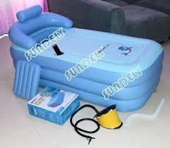 Portable Bathtub For Adults Uk by Secuda Folding Portable Spa Bathtub Pvc Warm Inflatable Bath