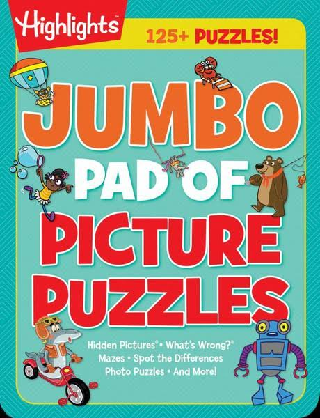 Jumbo Pad of Picture Puzzles - Highlights Press
