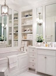 Distressed Cherry French Country Bathroom Vanity by Bathroom Vanity Storage Ideas White Pink Colors Wooden Floating