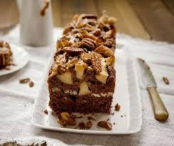 cake pomme noix de pécan au caramel végane rezept