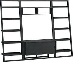 bookcase espresso leaning shelf espresso leaning bookcase crate