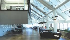 cbre help desk email a design showcase cbre s world headquarters in los