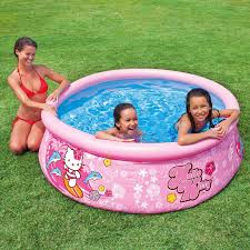 Inflatable Bath For Toddlers by Intex Hello Kitty Easy Set Inflatable Instant Kids Swimming Pool