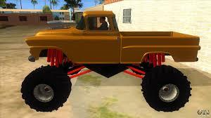 1958 Chevrolet Apache Monster Truck For GTA San Andreas